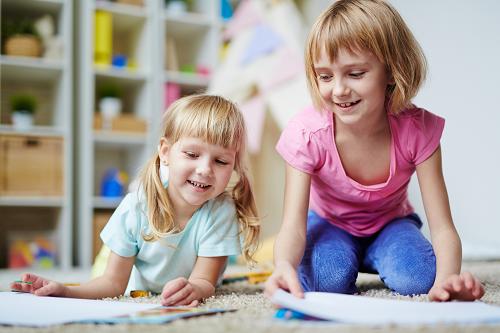 Jeux créatifs pour les enfants